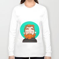 ginger Long Sleeve T-shirts featuring Ginger by caridibuja