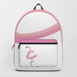 my Kid's Flamingo Backpack