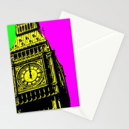 Big Ben - In all her coloured glory... Stationery Cards