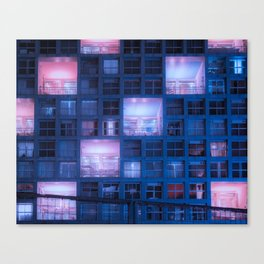 Time to rest our heads in our luxury suites Canvas Print