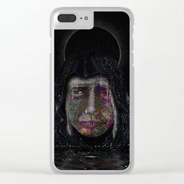 Cosmic Eyes Clear iPhone Case