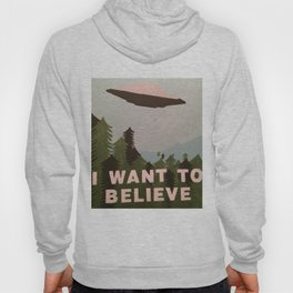IWTB poster from Mulder's basement office Hoody