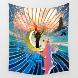 Dream of the Daughter Wall Tapestry