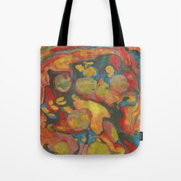 There's Order in Chaos: Marbleizing Tote Bag