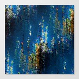 Floral Underwater Canvas Print