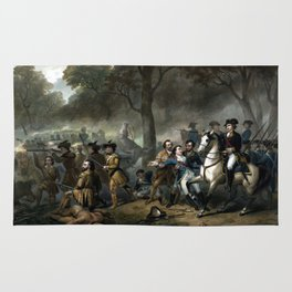 Life Of George Washington -- The Soldier Rug