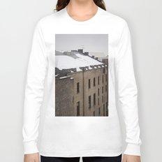 Urban Snowfall Long Sleeve T-shirt