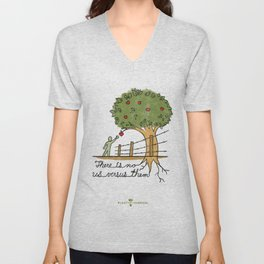 Plant With Purpose - There is no us versus them Unisex V-Neck