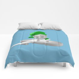 Tree House Boat Comforters