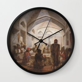 Jules Laurens - Meeting Room in Tehran Wall Clock