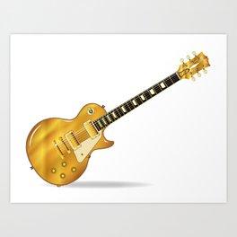 Golden Top Blues Art Print