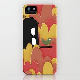 Birdhouse n.2 iPhone Case