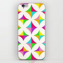 Colour Block 2 iPhone Skin