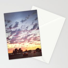 Vanilla Sky Freeway Stationery Cards