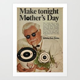 Make Tonight Mother's Day Art Print
