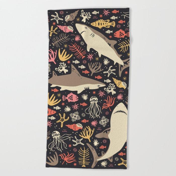 Oceanica Beach Towel