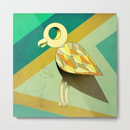 color up your life - Parrot Metal Print