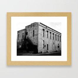 Corner Stone  Framed Art Print