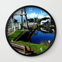 Footbridge Wall Clock