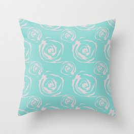 SMOOTHIES FROM ROSES Throw Pillow