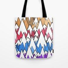 Mountains of colour Tote Bag