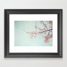 Spring happiness Framed Art Print