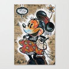 Minny-ot Canvas Print