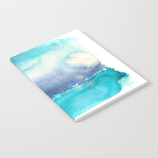 Vibrant horizon || watercolor Notebook