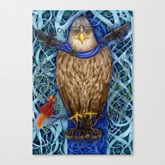 Dwellers of Yggdrasil Canvas Print