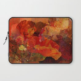 Poppy bouquet Laptop Sleeve