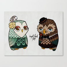 The Owls Canvas Print