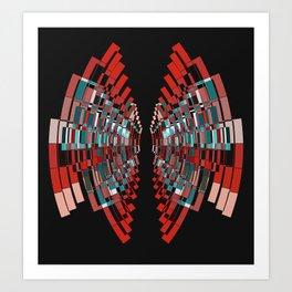 red box Art Print