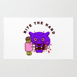 Bite the Hand Rug