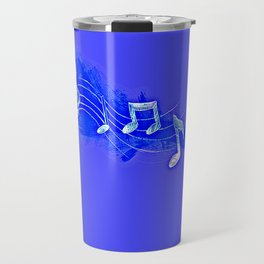 Blue Notes Travel Mug