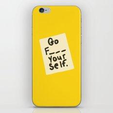 Funny, Go Yourself... iPhone & iPod Skin