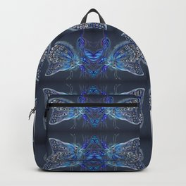 Blue Butterflies Navy & Indigo Palette Backpack