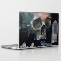 alchemy Laptop & iPad Skins featuring Darkest alchemy by Aderhine