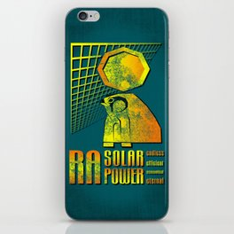 Ra Solar Power iPhone Skin