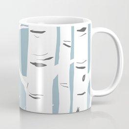 Blue Birches Coffee Mug