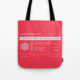 A grotesque clutch Tote Bag