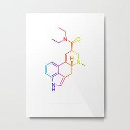 LSD color Metal Print