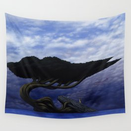 Angles of Transference Wall Tapestry