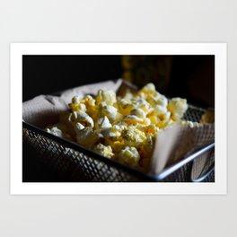 Popcorn! Art Print