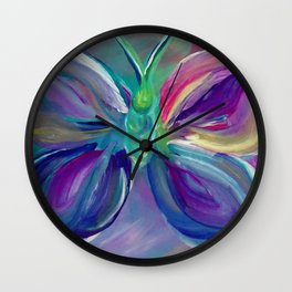 Butterfly2 Wall Clock