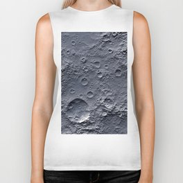 Moon Surface Biker Tank