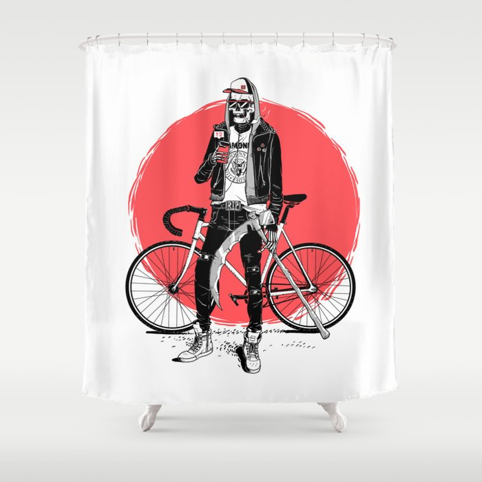 Cool Death Shower Curtain