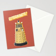 Dalek Doctor Who Stationery Cards