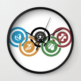 Zombie rings! Wall Clock