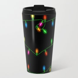 Christmas lights collection Travel Mug
