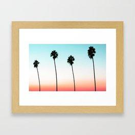 Sunset Boulevard #society6 #decor #buyart Framed Art Print